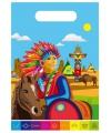 Indianen uitdeelzakjes 8 stuks