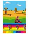 Tafel laken met indianenprint