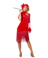 Rode roaring twenties jurk