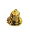 Kerstklokjes goud 16 mm 20 stuks