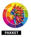 Indianen thema feestje pakket