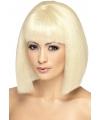 Blonde damespruiken kort haar