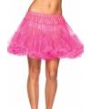 Petticoat luxe neon roze voor dames