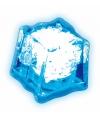 IJsklontje met blauw led licht
