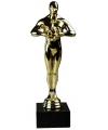 Luxe gouden beeldje 22 cm
