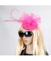 Roze Christina dameshoed op diadeem