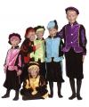 Zwarte Pieten pakje roze voor kids