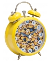Gele Minions wekkers 8 cm