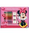 22 delige stempel set Minnie Mouse