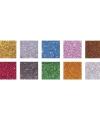 Glitter mozaiek steentjes in kleuren