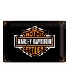 Muurdecoratie van het logo van Harley Davidson