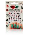 Nagel decoratie sticker set met grappige woorden