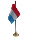 Nederland vlaggetje met standaard