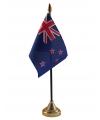 Nieuw Zeeland vlaggetje met standaard