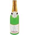 Champagne fles opblaasbaar