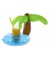 Opblaas palmboom dranken houder