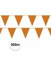 Prijsvoordeel vlaggenlijnen oranje 500 meter