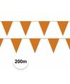 Prijsvoordeel 20 vlaggenlijnen oranje