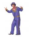 Paarse disco suit voor heren
