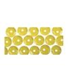 Gele pailletten 500 stuks