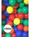Kleurige ballenbak ballen 1000 stuks
