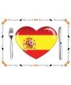 Spaanse placemats van papier setje