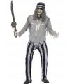 Piraat spook/zombie kostuum