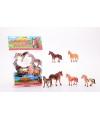 Plastic paardjes 6 stuks