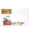 Set van 6 speelgoed reptielen