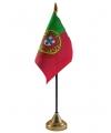 Portugal vlaggetje met standaard