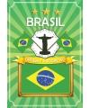 Deur poster thema Brazilie