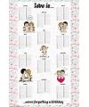 Liefde is kalender maxi poster 61 x 91 cm