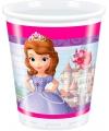 Prinsesje Sofia feest bekers 8 stuks