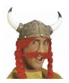 Vikingen snor in het rood