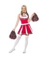 American Cheerleader jurk rood