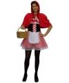 Voordelig Roodkapje kostuum voor dames