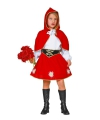 Roodkapje jurkje voor meiden