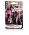 Roze verf voor in het haar