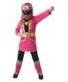 Roze Power Ranger kostuums voor kinderen