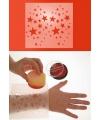 Make up sjabloon sterren
