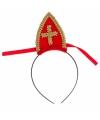 Diadeem met Sinterklaas mijter
