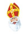 Sinterklaas maskers van karton