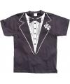 Grappig Gangster shirt Tuxedo