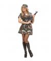 Leger soldaten kostuum dames