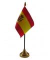 Spanje vlaggetje met standaard