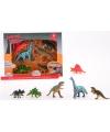 Plastic dinosaurussen 6 stuks