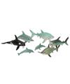 Zeedieren van plastic assorti