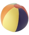 Gekleurde strandballen