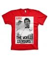 Merchandise Scarface shirt heren rood