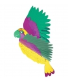 Gekleurde papagaai decoratie